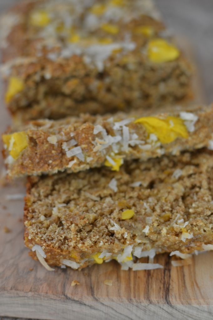 Mango Coconut Quick Bread